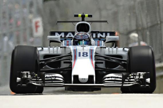 Lance Stroll affirme mieux connaître sa Williams FW40 après 8 courses. (La Presse photo Bernard Brault)