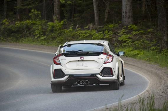 Honda offrira au Canada seulement 1000 unités de son nouveau modèle Type R. ()