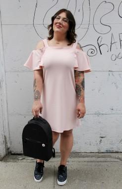 Émilie Morin, cofondatrice de La Fabrique crépue, portait une robe dénichée chez Marshalls. (Fournie par Émilie Morin)