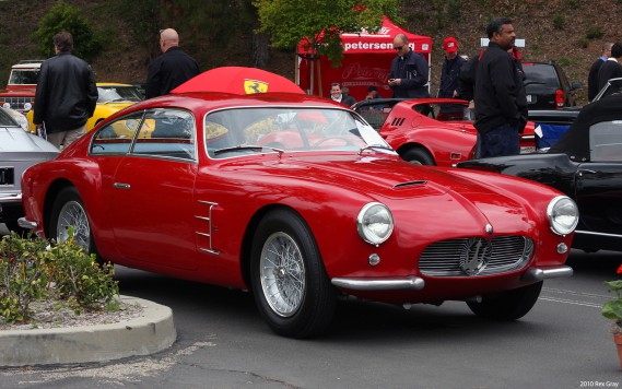 <strong>La voiture de ses rêves :</strong> La Maserati A6G 2000 dessinée par Zagato et lancée en 1955. «Je ne sais pas ce qu'ils ont mis dans l'eau durant les années 50 et 60, mais les autos étaient spectaculaires.» ()
