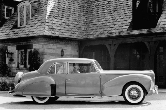 1940 : Lincoln Continental coupe (Photo : Archives Ford)
