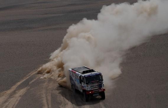 Le camion de l'écurie Tatra. (AFP)