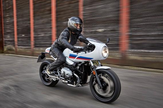 BMW R nine T Racer. Elle est très belle, mais pas particulièrement fonctionnelle. (Toutes les photos : BMW)