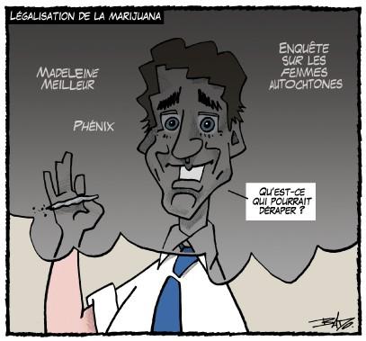 Caricature du 27 juillet (Le Droit, Bado)