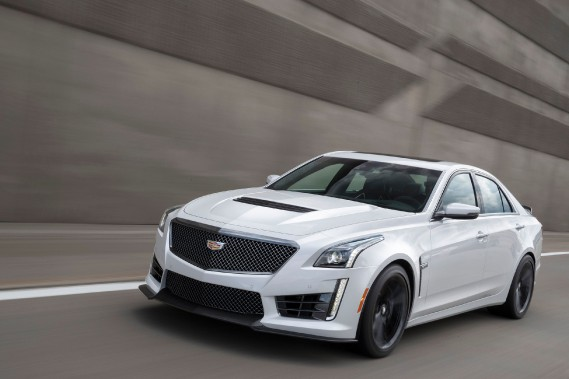 La Cadillac CTS-V 2017 est untémoignage extrêmement éloquent que Cadillac n'est pas là pour faire de la figuration. ()