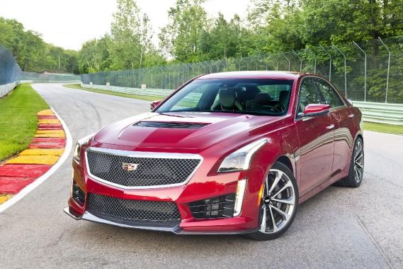 Cadillac CTS-V 2017. ()