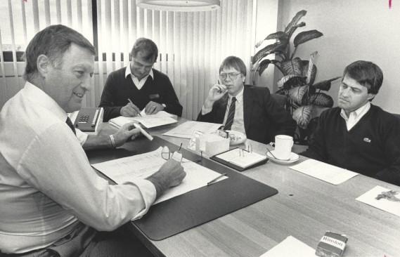 En octobre 1989 (Archives Le Soleil, Jean-Marie Villeneuve)