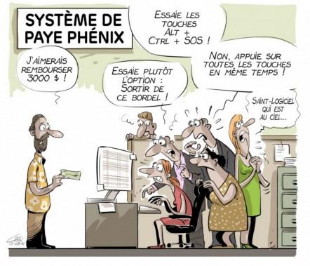 Caricature du 1er août (Le Soleil, André-Philippe Côté)