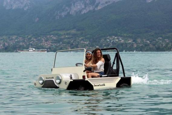 Une Mini-Moke amphibie made in France
