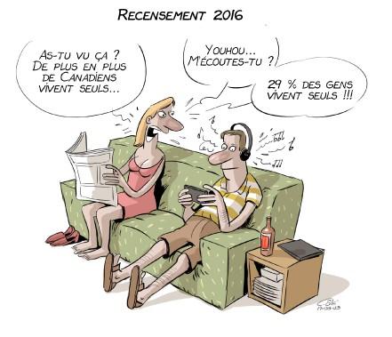 Caricature du 3 août (Le Soleil, André-Philippe Côté)