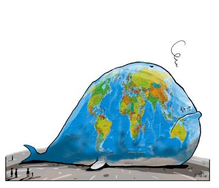 Caricature du 6 août (Le Soleil, André-Philippe Côté)