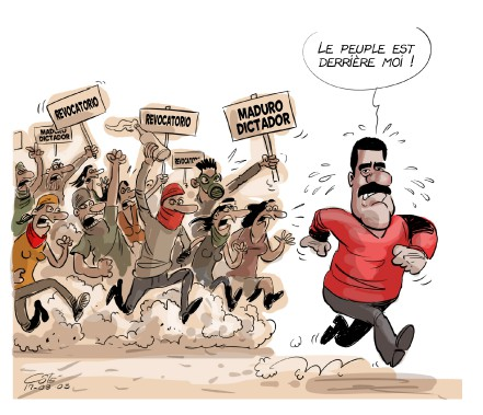 Caricature du 8 août (Le Soleil, André-Philippe Côté)