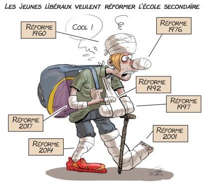 Caricature du 11 août (Le Soleil, André-Philippe Côté)