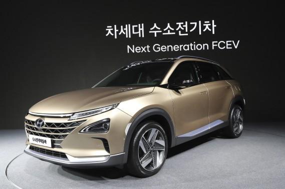 Le futur VUS à hydrogène de Hyundai. (AP)