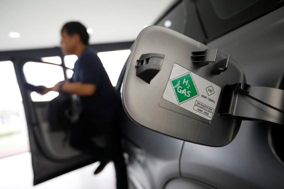 Le futur VUS à hydrogène de Hyundai. (REUTERS)