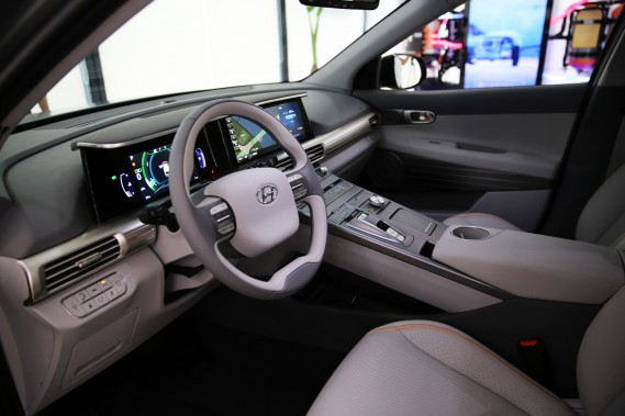 Le futur VUS à hydrogène de Hyundai. ()