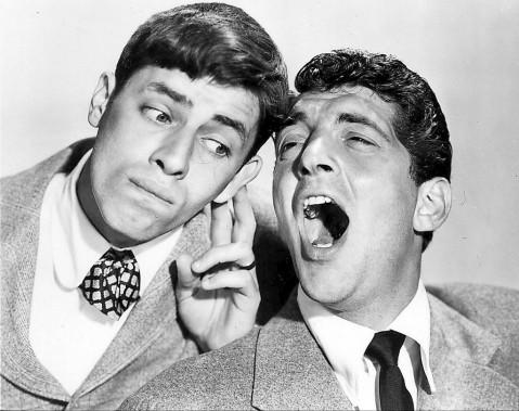 Jerry Lewis et Dean Martin (à droite) dans le film <em>Mon bonne amie Irma</em> (<em>My Friend Irma</em>) en 1949 ()