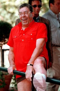 Au Festival de cinéma de Venise, le 11 septembre 1999, où il a reçu un Lion d'or pour l'ensemble de sa carrière (AP, Francesco Proietti)