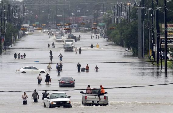 Houston inondée (AFP, Thomas B. Shea)