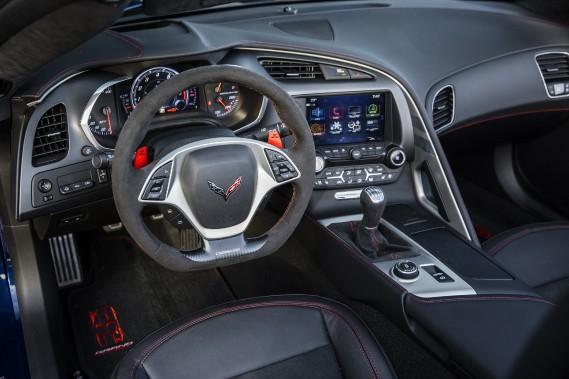 La boîte manuelle à 7 rapports de la Corvette est exceptionnelle. ()