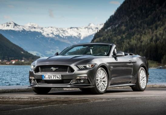 La Mustang est très populaire en Europe. ()