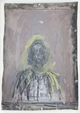 Alberto Giacometti, <i>Annette</i>, 1952. Huile sur toile, 57 x 43 cm (Succession Alberto Giacometti/ SODRAC)