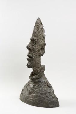 Alberto Giacometti, <i>Grande tête mince</i>, 1954. Bronze, 64,5 x 38,1 x 24,4 cm (Succession Alberto Giacometti/ SODRAC)