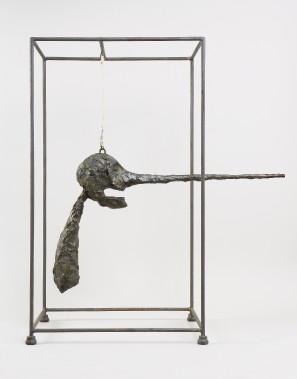 Alberto Giacometti, <i>Le Nez</i>, 1947. Bronze, 80,9 x 70,5 x 40,6 cm (Succession Alberto Giacometti/ SODRAC)