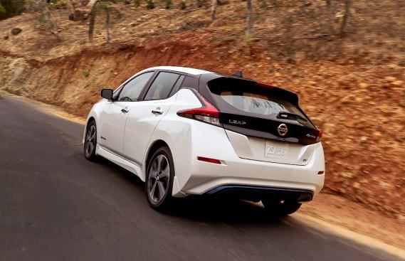 Nissan Leaf 2018 - crdit: Nissan (La Presse)