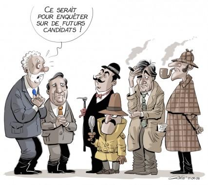 Caricature du 8 septembre (Le Soleil, André-Philippe Côté)