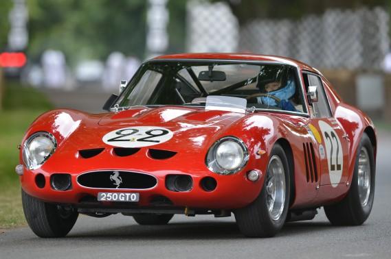 La Ferrari 250 GTO est un fantasme pour les amateurs de belles voitures. (Photo : Motortrend)
