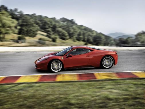 La Ferrari 458 Italia. (Ferrari)
