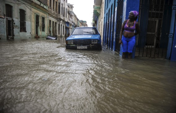 L'ouragan Irma a fait des dégâts à Cuba — Inondations et destructions