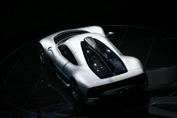 La Mercedes-AMG Project One. (REUTERS)