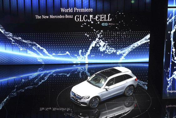 <strong>Hydrogène</strong> - Le Mercedes-Benz GLC F-Cell. (AP)