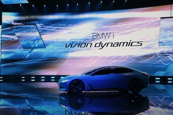 La BMW i Vision Dynamics a été dévoilée au Salon de l'auto de Francfort. (REUTERS)