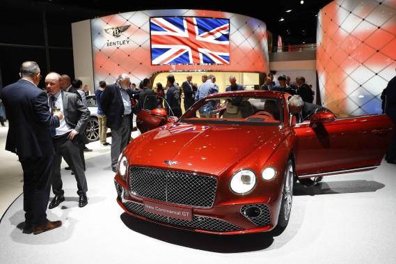 Bentley présente sa nouvelle Continental GT