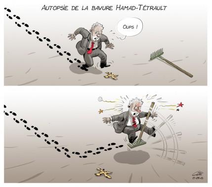 Caricature du 15 septembre (Le Soleil, André-Philippe Côté)