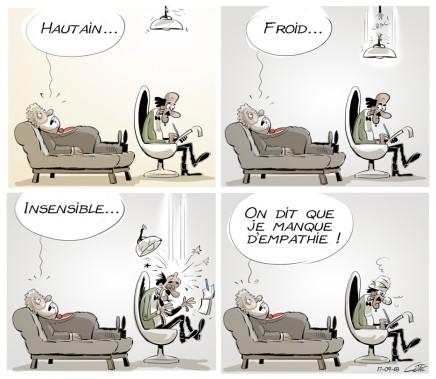 Caricature du 18 septembre (Le Soleil, André-Philippe Côté)