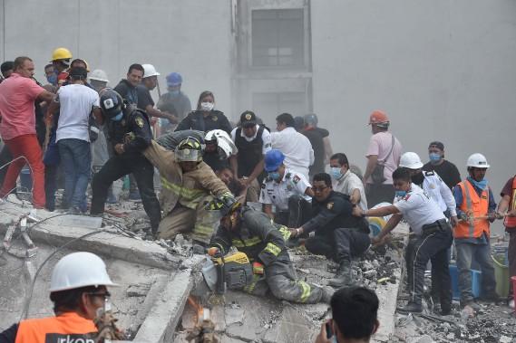 Un séisme de magnitude 6,1 a frappé le Mexique