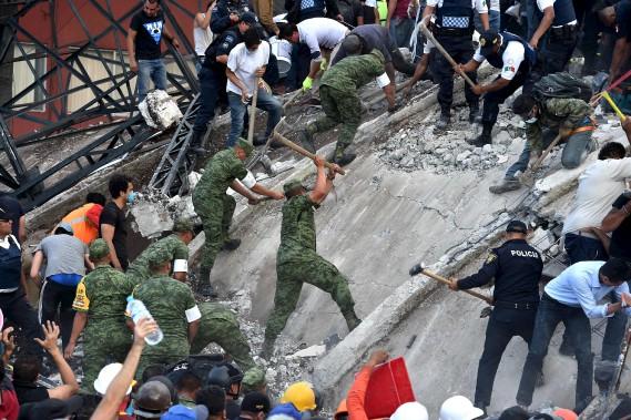 Un nouveau séisme de magnitude 6,1 enregistré — Mexique