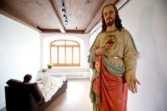 En matière de ressourcement, le Monastère des Augustines offre une expérience unique où il est possible de méditer avec une présence... inspirante. (La Presse)