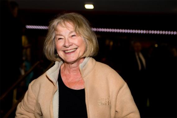 Aussi à l'affiche du film de Robin Aubert,<em>Les affamés</em>, dans lequel elle joue un rôle étonnant, Micheline Lanctôt était également de la fête au Théâtre Maisonneuve, hier soir. (PHOTO OLIVIER PONTBRIAND, LA PRESSE)