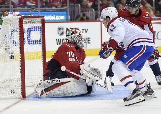 Brendan Gallagher a été le seul joueur du Canadien à faire bouger les cordages. (PHOTO Nick Wass, AP)