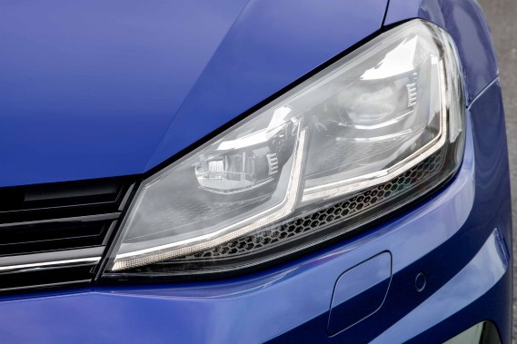 La Volkswagen Golf R (Photo fournie par Volkswagen)
