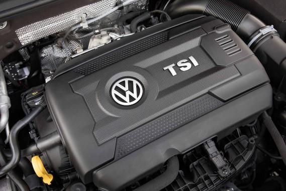 Le moteur de la Volkswagen Golf GTI (Photo fournie par Volkswagen)