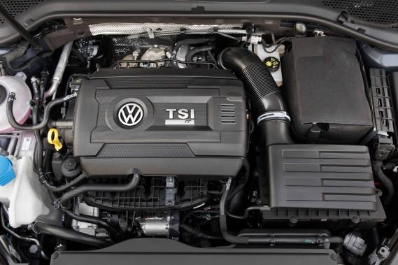 Le moteur de la Volkswagen Golf R (Photo fournie par Volkswagen)
