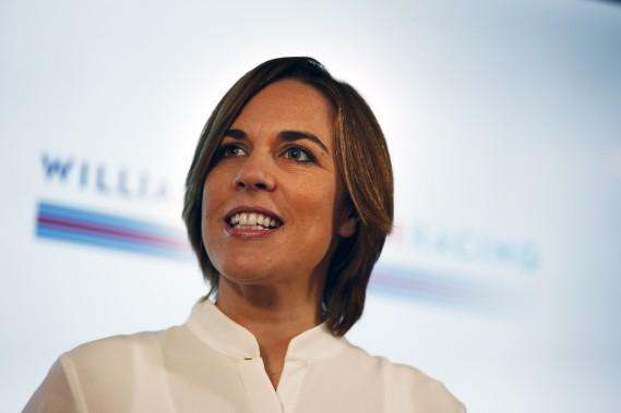 La patronne de l'écurie Williams, Claire Williams, pense que la force physique généralement moins grande des femmes n'est pas un obstacle insurmontable à leur présence en F1. (AFP)