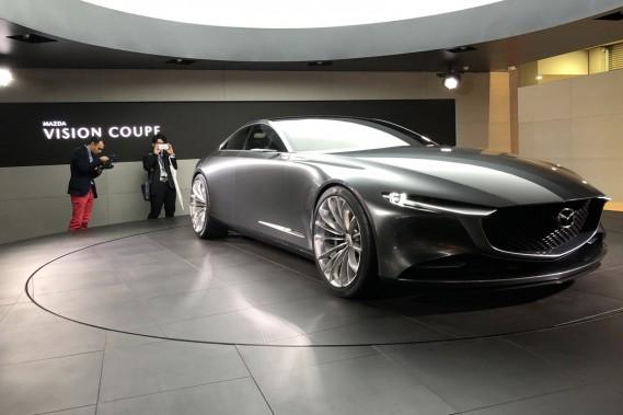 Mazda Vision Coupé. ()