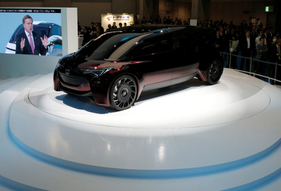 Le Toyota Fine Comfort Ride. (REUTERS)